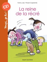 Cover of « La reine de la récré »