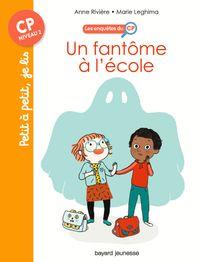 Cover of «Un fantôme à l'école»