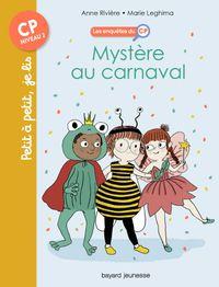 Couverture «Mystère au carnaval»