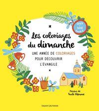 Cover of «Les coloriages du dimanche (année B)»