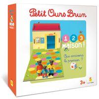 Couverture «Jeu Petit Ours Brun – 1,2,3, Maison !»