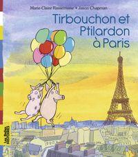 Couverture «Tirbouchon et Ptilardon à Paris»