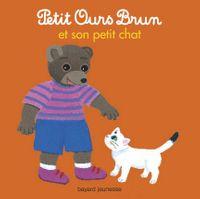 Couverture «Petit Ours Brun et son petit chat»