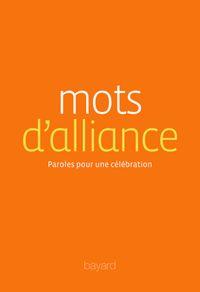 Couverture «Mots d'alliance»