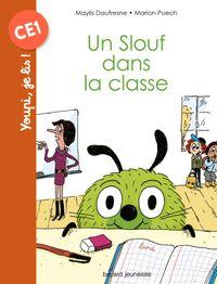 Couverture «Un slouf dans la classe»