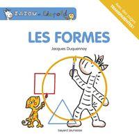 Couverture «NED Zazou et Léopold Les formes»