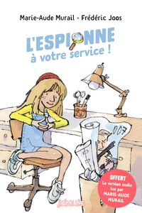 Couverture «L'espionne à votre service !»