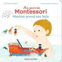Cover of «Maxime prend son bain»