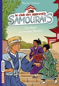 Couverture «Combats au temple Shaolin»