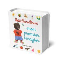 Couverture «Mon premier imagier Petit Ours Brun»