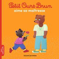 Couverture «Petit Ours Brun aime sa maîtresse»