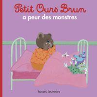 Couverture «Petit Ours Brun a peur des monstres»