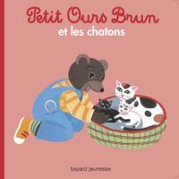 Couverture «Petit Ours Brun et les chatons»