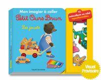 Couverture «Mon imagier à coller Petit Ours Brun – Les jouets»