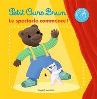Couverture «Le livre-CD du spectacle de Petit Ours Brun»