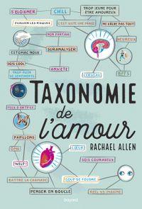Couverture «Taxonomie de l'amour»