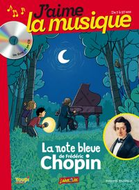 Couverture « LA NOTE BLEUE DE FREDERIC CHOPIN »