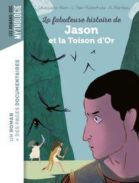Couverture «La fabuleuse histoire de Jason et la Toison d'or»