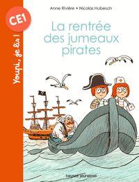 Couverture «La rentrée des jumeaux pirates»