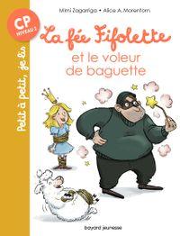 Couverture «La fée Fifolette et le voleur de baguette»