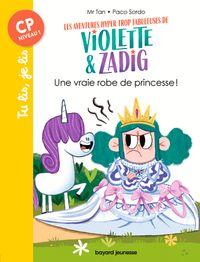 Couverture «Une vraie robe de princesse !»