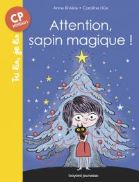 Couverture « Attention, sapin magique ! »