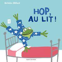 Couverture «Hop ! au lit !»