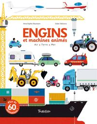 Couverture « Engins et machines animés »