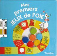 Cover of «Mes premiers jeux de l'oie»