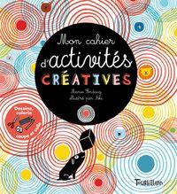 Couverture «Mon cahier d'activités créatives»