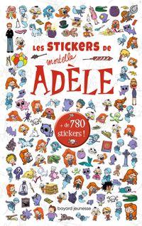 Couverture «Stickers Mortelle Adèle»