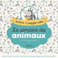 Cover of «La semaine des animaux»