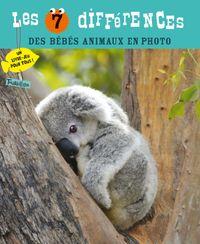 Couverture «Les 7 différences des bébés animaux en photo»