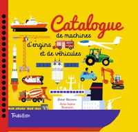 Couverture « Catalogue de machines, d'engins et de véhicules »