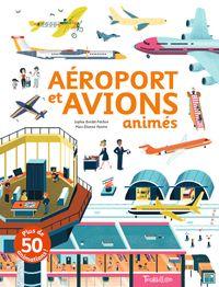 Couverture «Aéroport et avions animés»