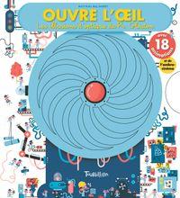 Cover of «Ouvre l'oeil – Les illusions d'optique du professeur Glouton»