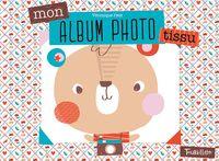 Couverture «Mon album photo – Tissu»