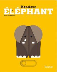 Couverture «Monsieur Éléphant»