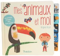 Cover of « Mes animaux et moi – Onglets tissu »