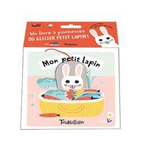 Couverture «Mon petit lapin -Tissu»