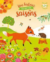 Couverture «Une histoire qui sent bon les saisons – Livre à odeurs»