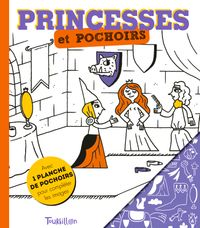 Couverture «Princesses et pochoirs»
