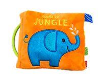 Couverture «Dans la jungle – Tissu»