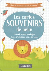 Couverture «Les cartes souvenirs de bébé»