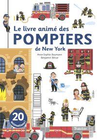 Couverture «Le livre animé des pompiers de New York»