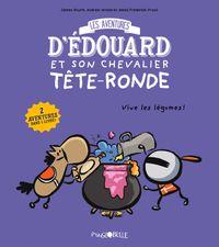 Couverture «Les aventures d'Édouard et son chevalier tête ronde T.2»