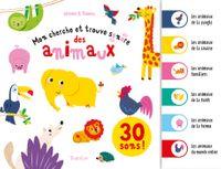 Cover of «Mon cherche et trouve sonore des animaux»