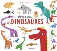 Couverture «Cherche et compte les dinosaures»