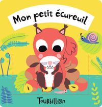 Couverture «Mon petit écureuil – Tissu»
