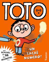 Couverture «Toto, un sacré numéro»